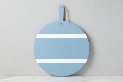 Blue/White Round  Charcuterie Board, Round.
