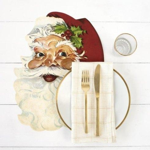 Hester and Cook   Santa placemat set 12 $29.00