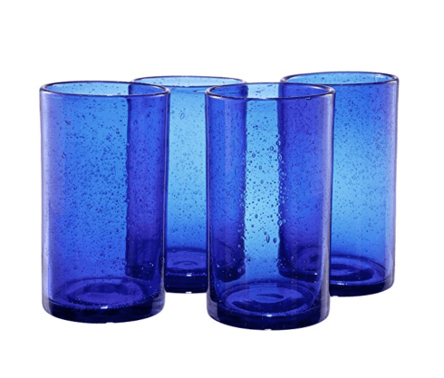 $10.00 Iris Highball - Cobalt