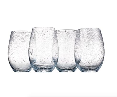 Artland   Iris Stemless Glass- Clear $12.00
