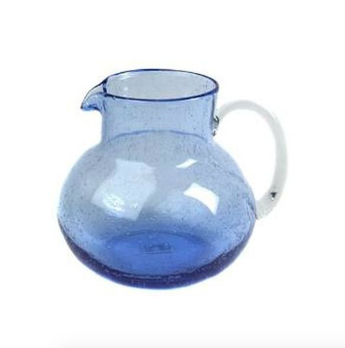 $42.00 Iris Pitcher - Cobalt