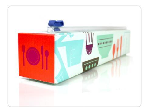 $15.00 Cook\'s Tool Plastic Wrap Dispenser