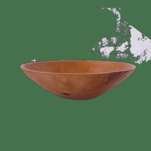 "Sobremesa Greenheart   14"" Wooden Bowl $155.00"