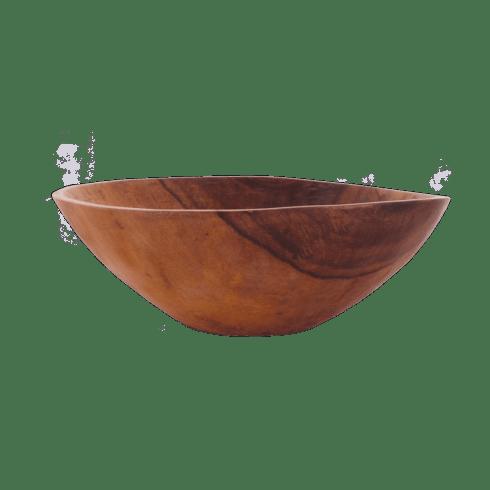 """Sobremesa Greenheart   17"""" Wood Bowl $200.00"""