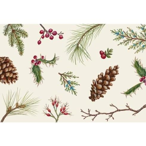 Hester and Cook   Winter collage placemat set 12 $29.00