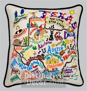 catstudio  Texas Texas Pillow $196.00