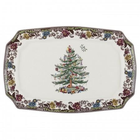 Christmas Tree Grove-Large Platter collection with 1 products