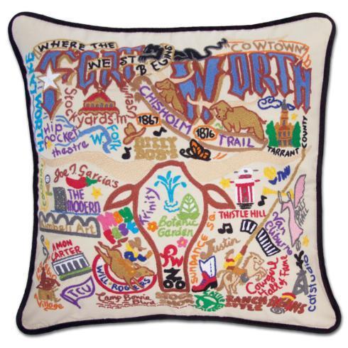 catstudio  Fort Worth Fort Worth Pillow $196.00