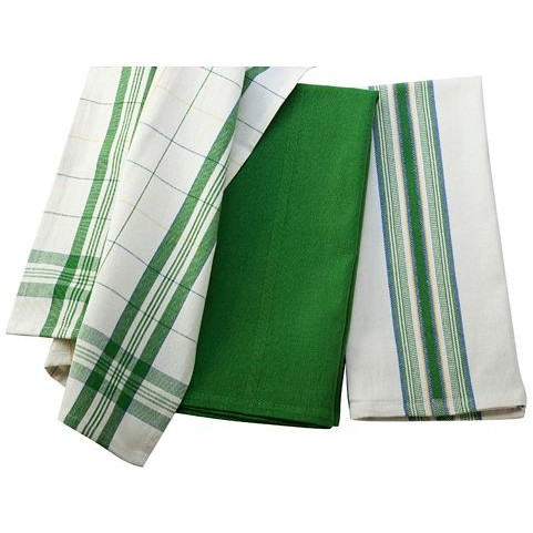 Le Creuset   Dishtowels Set/3 Green $25.00