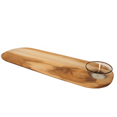 Sobremesa Greenheart   Long Single OH Teakwood Board $92.00