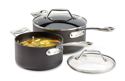 $160.00 Essentials Nonstick Set/2 Sauce Pans