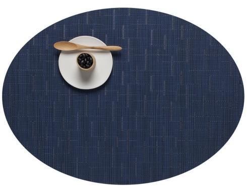$17.00 Bamboo Oval Placemat, Lapis