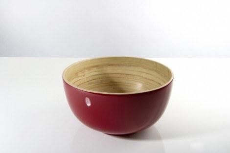 bibol   Bambou Small Bowl, Red $20.00