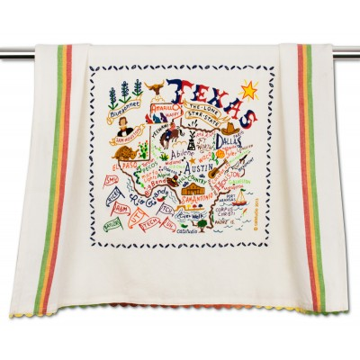 catstudio  Texas Texas Dishtowel $21.00