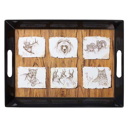 American Pages Melamine Tray