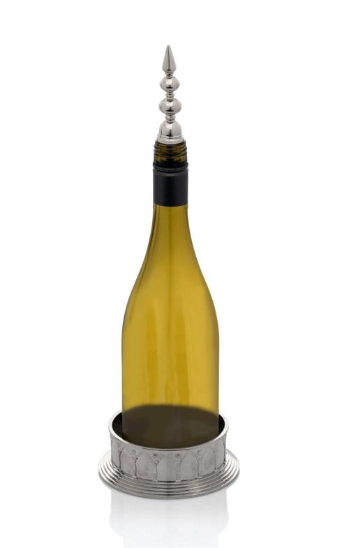 Michael Aram  Palace Wine Coaster and Stopper Set $110.00