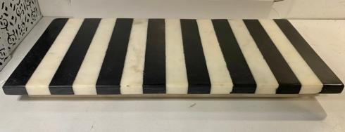 Be Home Décor   BLACK & WHITE MARBLE CHEESE BOARD $125.00