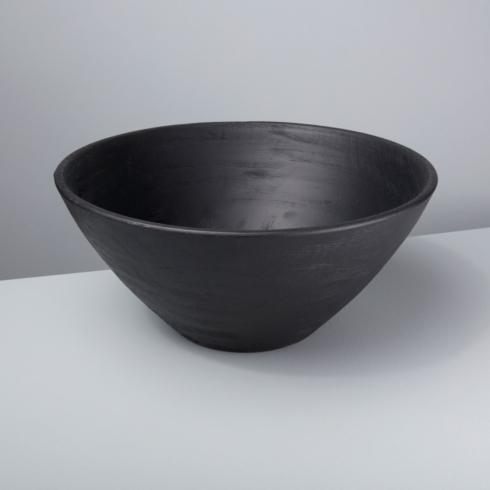 $95.00 BLACK MANGO WOOD BOWL