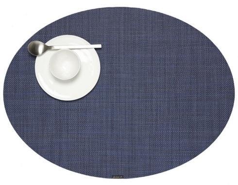 Simple Elegance Exclusives   MINI ASKETWEAVE INDIGO OVAL  $17.00