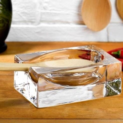 $46.00 Crystal Spoon Rest