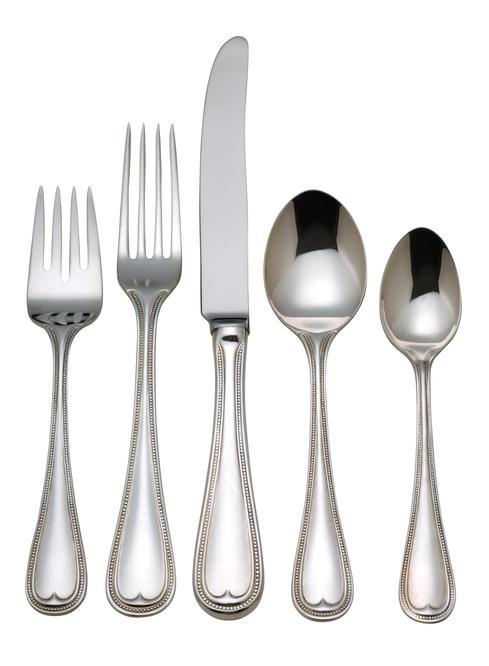 English Gentry 5 piece flatware set
