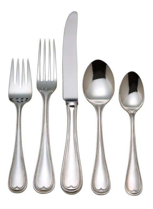$135.00 English Gentry 5 piece flatware set