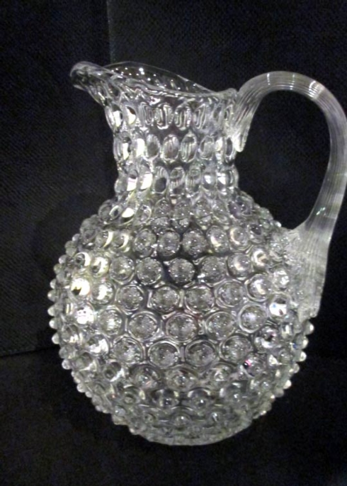 $132.00 Hobnail Pitcher - Clear