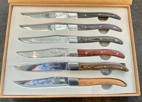 Simple Elegance Exclusives   STEAK  KNIVES S/6 $110.00