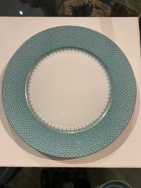 $70.00 MOTTAHEDEH TURQUOISE LACE CHARGER