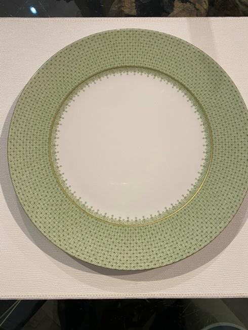 $70.00 MOTTAHEDEH APPLE GREEN LACE CHARGER