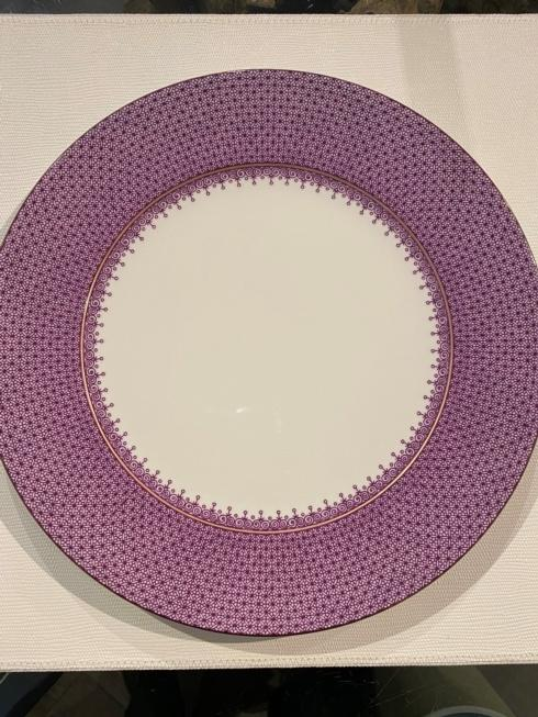 $70.00 MOTTAHEDEH PURPLE LACE CHARGER