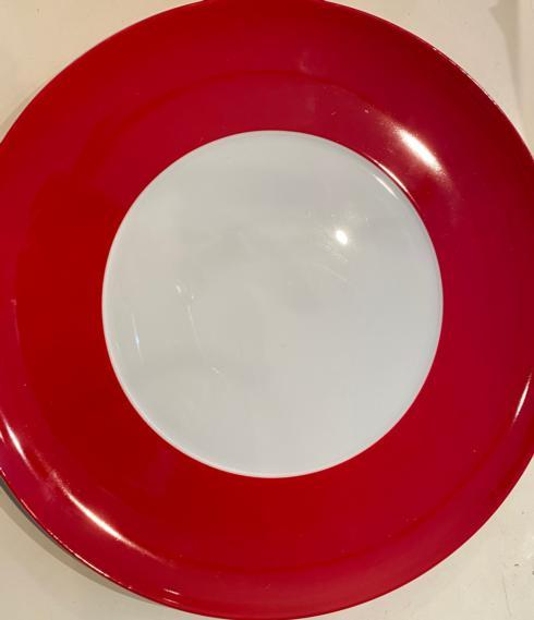 $68.00 Mottahedeh Eclipse Service Plate -RED sample