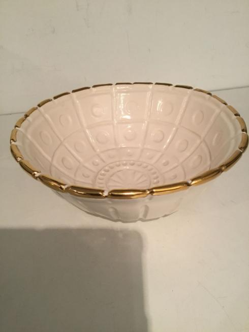WAINWRIGHT CAPITOL GOLD TRIM BOWL