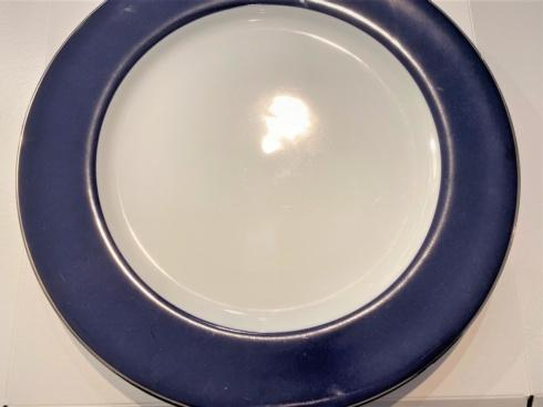 $25.00 Philippe Deshoulieres Les Indiennes Presentation Plate Navy SAMPLE
