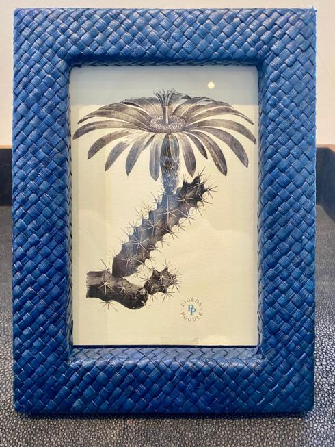 Simple Elegance Exclusives   BLUE WOVEN FRAME 4 X 6 $65.00