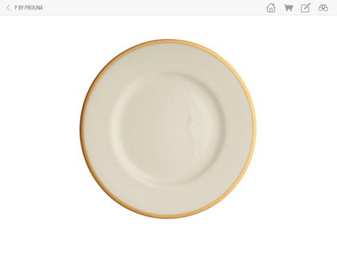 Prouna  COMET GOLD Salad/Dessert Plate $35.00