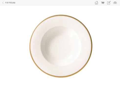 Prouna  COMET GOLD Soup Bowl $30.00