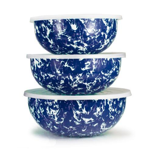 COBALT SWIRL NESTING BOWLS S/3 collection with 1 products