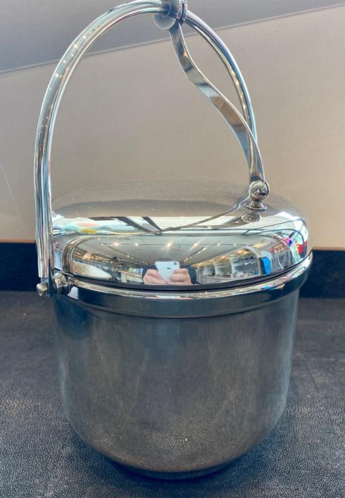 Simple Elegance Exclusives   SILVER PLATE ICE BUCKET $375.00