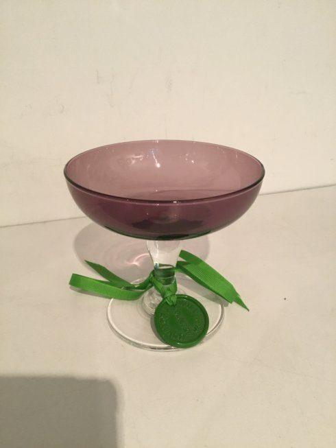 $50.00 WILLIM YEOWARD SMALL PURPLE FOOTED BOWL