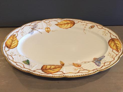$295.00 ANNA WEATHERLY AMBER LEAF LARGE OVAL PATTER