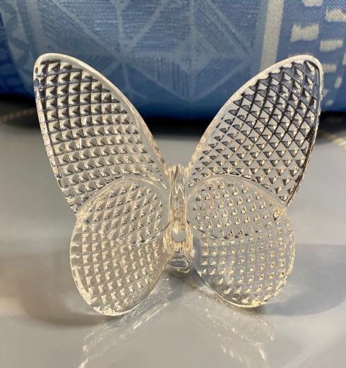 $160.00 DIAMANT CLEAR BUTTERFLY