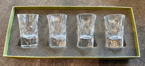 Christofle   SHOT GLASSES S/4 $260.00