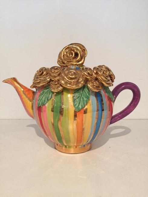 Gold Encrusted Teapot