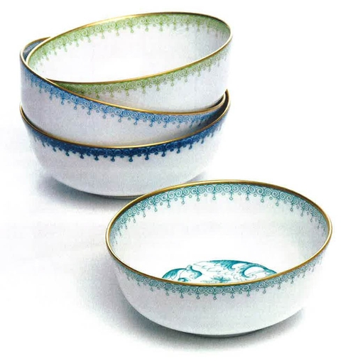 CORNFLOWER LACE DESSERT BOWL collection with 1 products