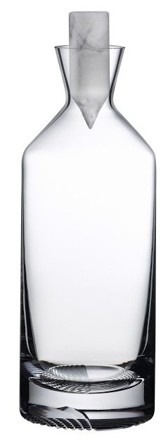 Nude Glass   TALL ALBA  DECANTER $365.00