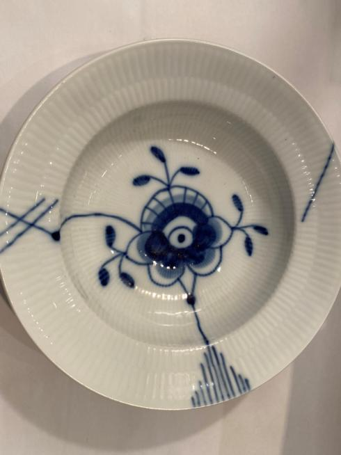 $45.00 BLUE FLUTED MEGA BOWL #4