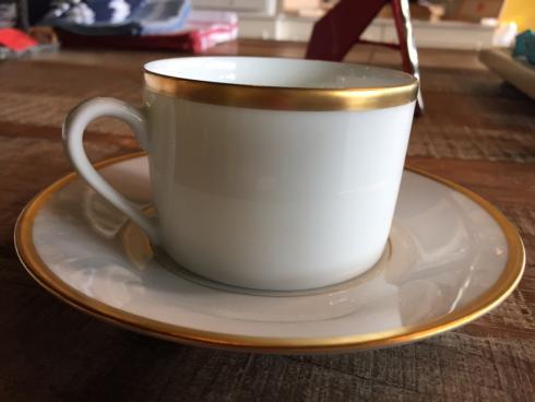 $95.00 SENAT GOLD TEA CUP AND SAUCER