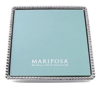 Mariposa   Beaded Luncheon Napkin Box $52.00