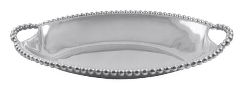 Mariposa   Pearled Large Deep Dish Server $159.00